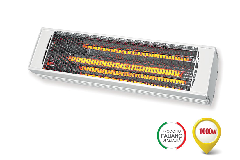RADIANT INFRARED HEATER WITH A FAST MEDIUMWAVE