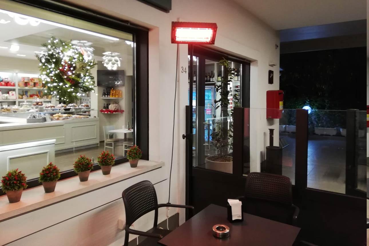 Settore H.o.r.e.c.a - Riscaldatore radiante a raggi infrarossi ad Onde Corte